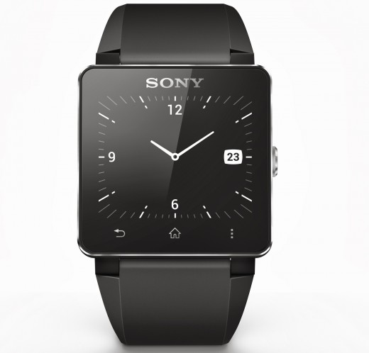 SmartWatch2 520x498 Sony SmartWatch 2 brings Android and NFC compatibility, no Sony smartphone required