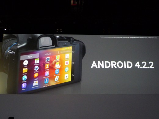 android nx 520x390 Samsung reveals Galaxy NX Android powered camera with 4G smarts