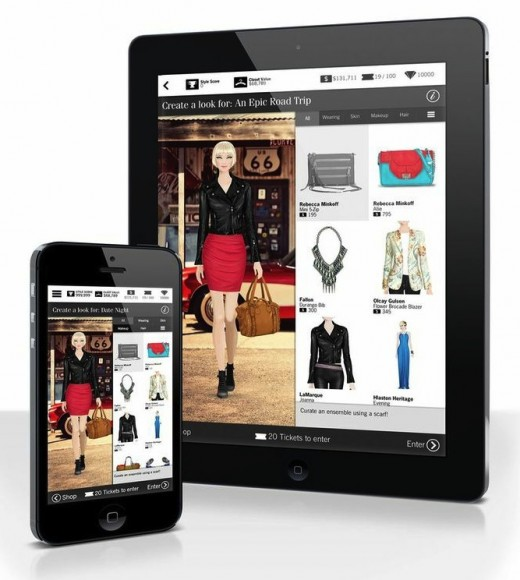 Girl game maker Crowdstar releases Covet, a virtual fashion app based on clothes from real brands