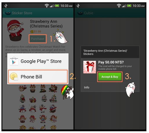 cubie payments Drawing themed messaging app Cubie introduces carrier billing for Android, as it nears 8m users