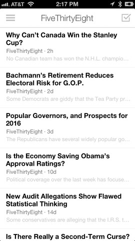 digg2 Digg updates its iOS app to bring its Digg Reader RSS service to mobile