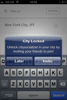 h 220x330 CitySocialising goes mobile and becomes Citysocializer, helping you tap social scenes wherever you roam