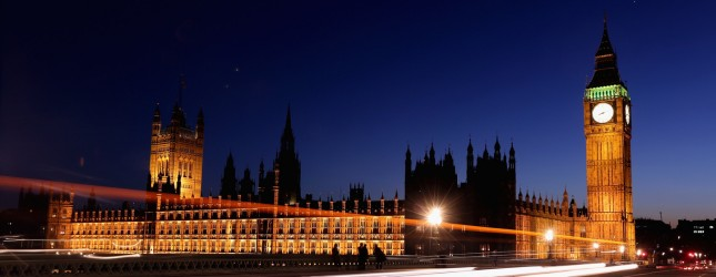London Landmarks At Night
