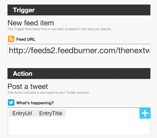 ifttt rss 520x458 Google Reader is going away on July 1. Heres what you need to know.