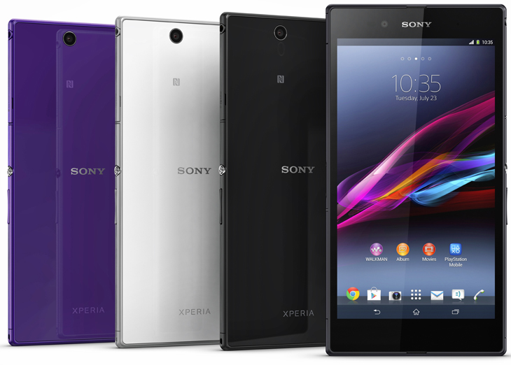 newxperiaz Sony unveils the Xperia Z Ultra, a waterproof 6.4 Android smartphone with a 1080p display