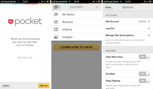 pocket 520x303 19 apps that already look perfect for iOS 7
