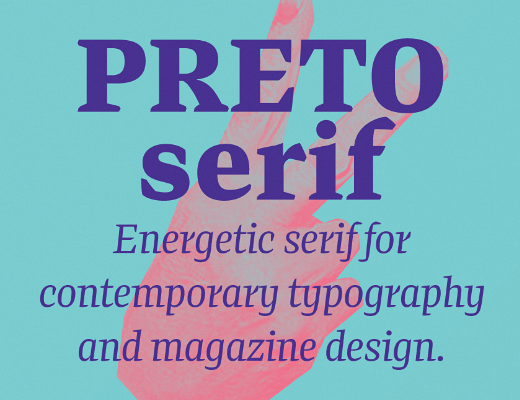 preto serif The 24 most beautiful typefaces released last month