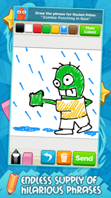 screenshot iphone5 3 L 220x390 Disney launches ScribbleMix, its first mobile only drawing game and a competitor to DrawSomething