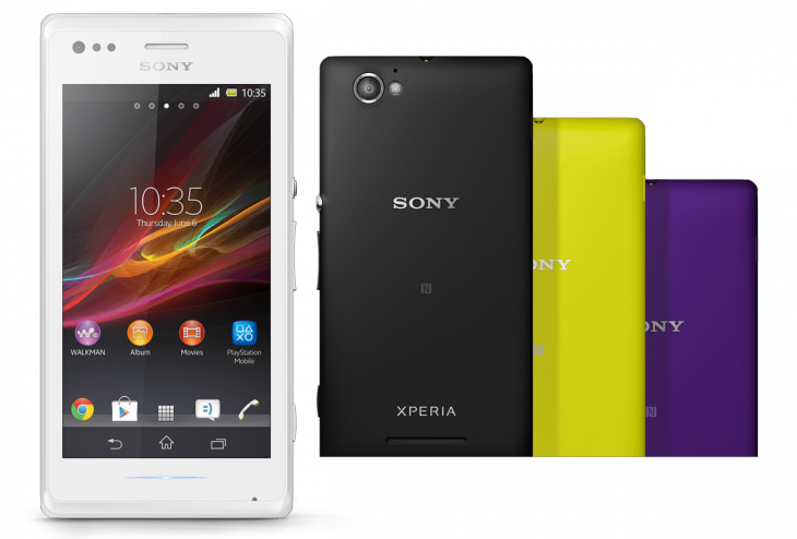 "xperia m gallery 03 1240x840 64f1ee9dab86d02f4725fd29fc37aa1b 730x494 Sony unveils Xperia M Android smartphone with a 4"" display, dual core processor and 5MP camera"