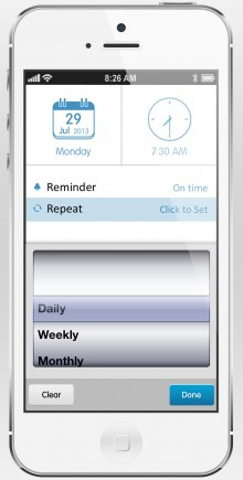 06 1 220x435 To do list app 24me gets recurring tasks, automatic birthday reminders and Astrid migration on iOS