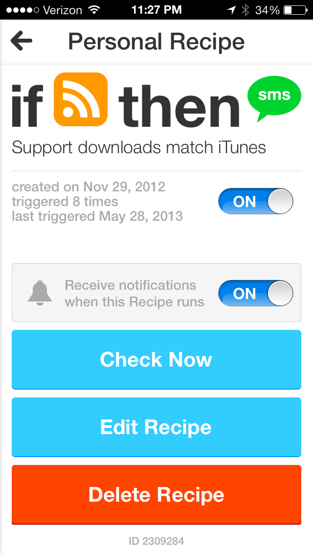 July 10  2013 at 1127PM IFTTT comes to iPhone with a crisp app featuring native Photos, Reminders and Contacts channels
