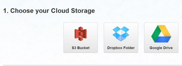 a 730x265 EntourageBox: An easy way for friends to share files to your cloud storage service without an account