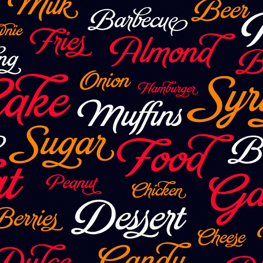 brand 30 of the most beautiful typefaces released last month