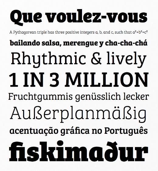 bree serif 30 of the most beautiful typefaces released last month