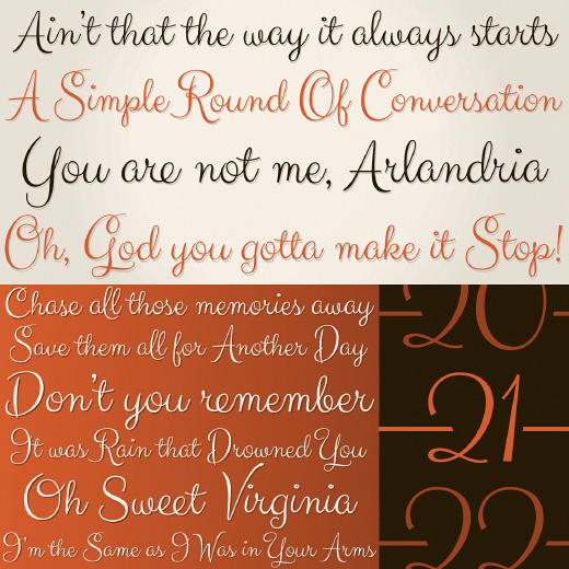 carioca script 30 of the most beautiful typefaces released last month