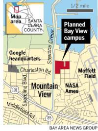 g2 Development of Googles new Mountain View campus up to one year behind schedule