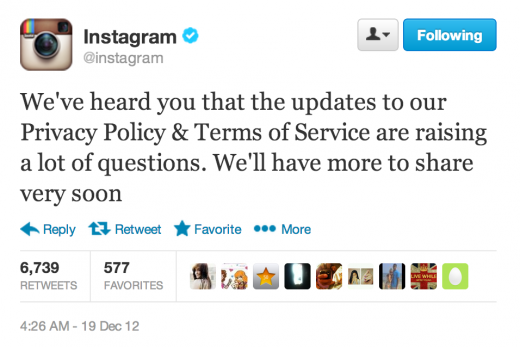 instagramtos 520x347 Q&A: Terms and Conditions May Apply director Cullen Hoback on the death of privacy