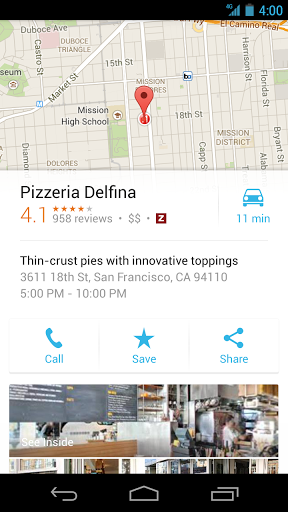 maps10 Google Maps update rolling out to Android devices, brings navigation and discovery improvements
