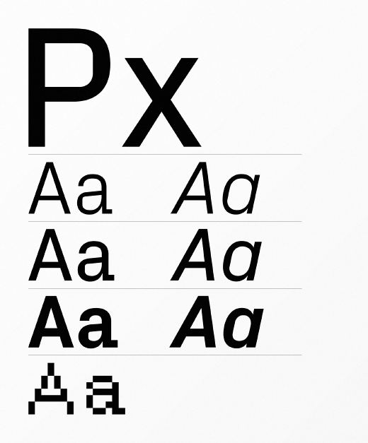 px grotesk 30 of the most beautiful typefaces released last month