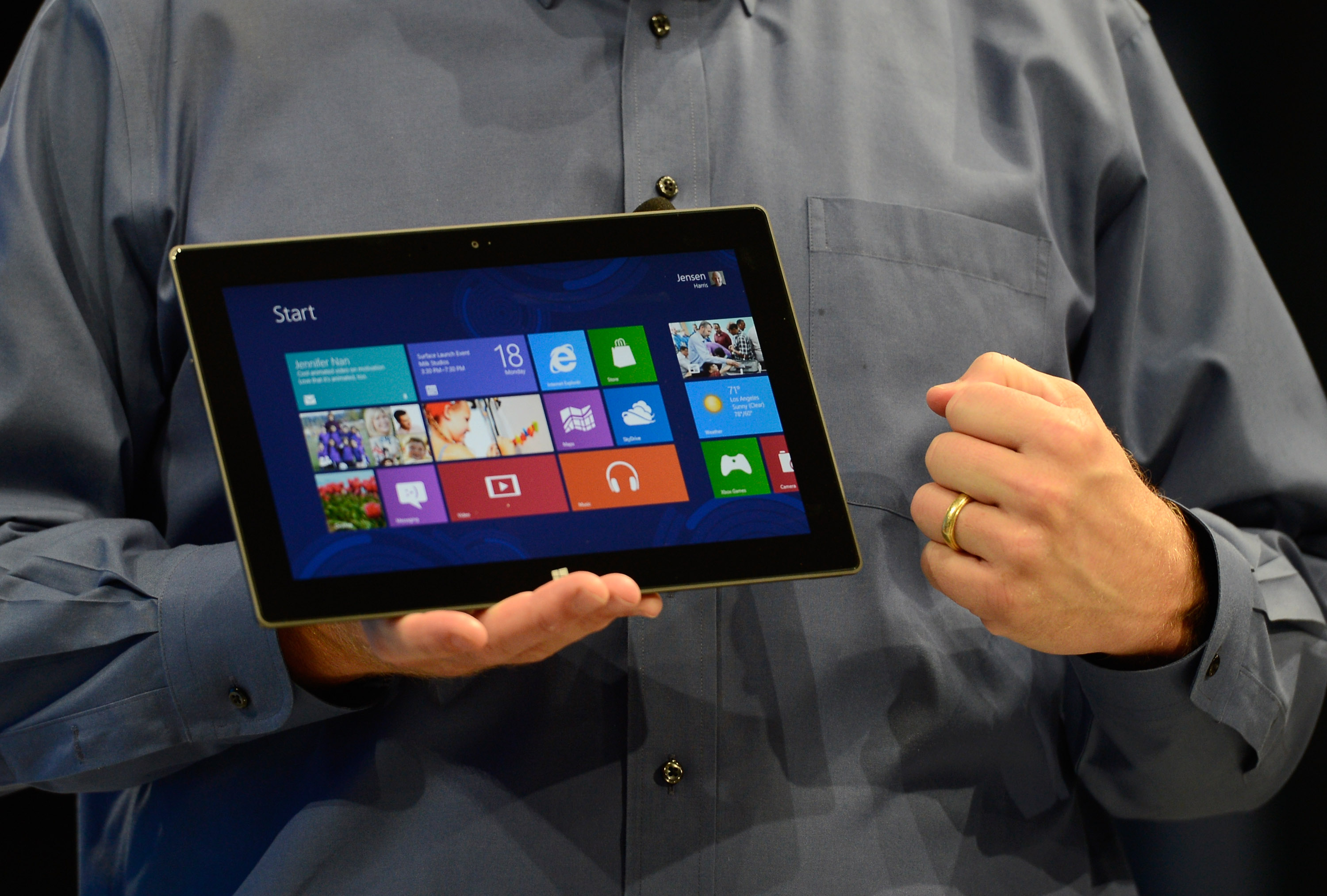 Microsoft's latest ads show the Surface beating the iPad, again