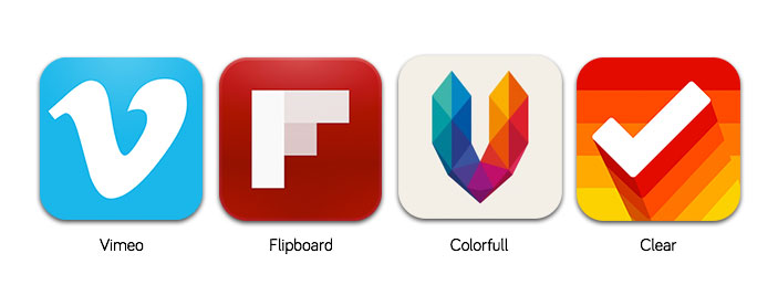 4 icons Six tips from Apple on how to create better app icons