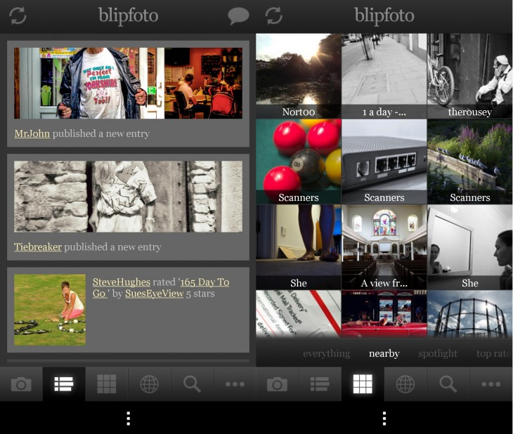 BlipfotoAndroid 730x618 Blipfoto delivers an Android app for budding photo journal fans