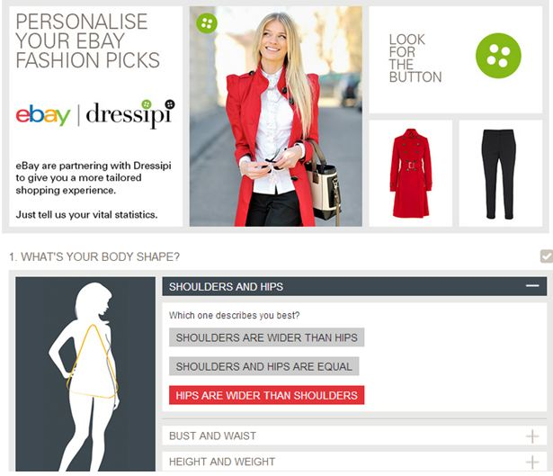 Dressipi 1 In the UK? You can trial eBays personalised fashion recommendations right now.