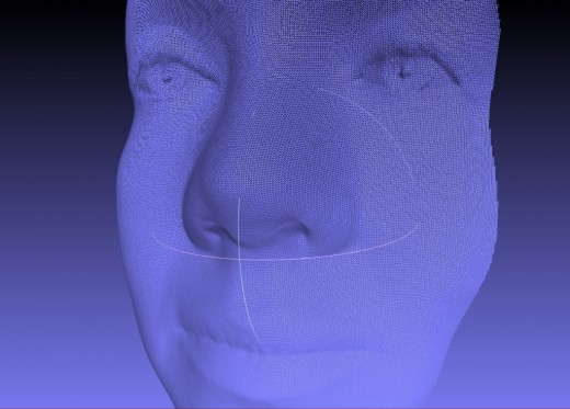 Fuel3D Female Face Scan wireframe view 1024x735 520x373 Fuel3D looks to Kickstarter to crowdfund a sub $1,000 full color handheld 3D scanner