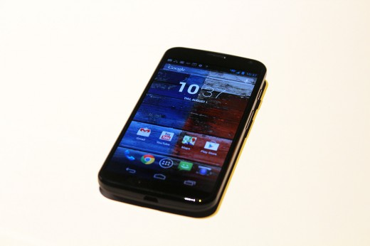 IMG 3075 520x346 Hands on with the Moto X: You wont lust after it, but its a solid smartphone