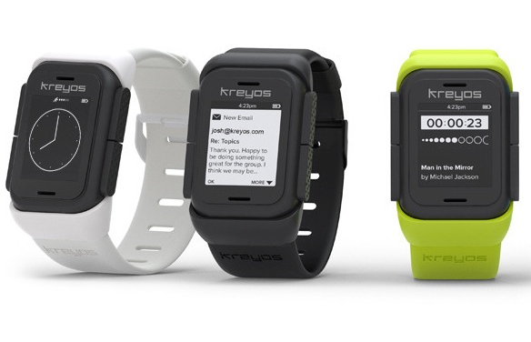 Kreyos sw 16 smartwatches you should know about (and 5 that missed their crowdfunding goals)