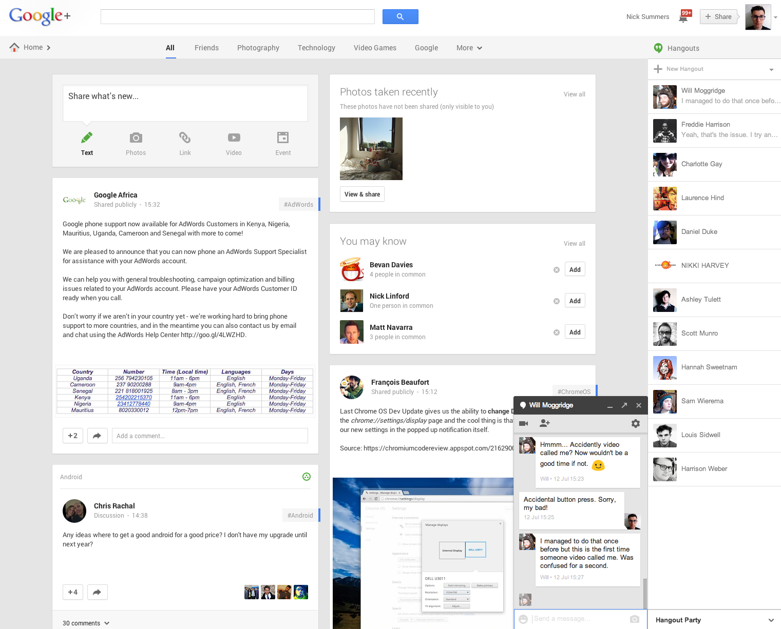Screen Shot 2013 08 19 at 15.37.47 I'm now convinced Google+ can succeed as the social spine for all things Google