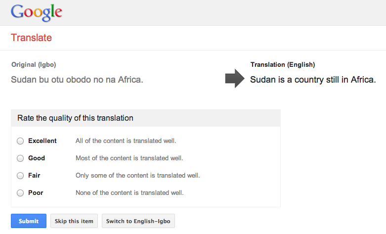 Screen Shot 2013 08 27 at 10.10.34 Google is working to add Somali, Zulu, Hausa, Yoruba and Igbo to Google Translate