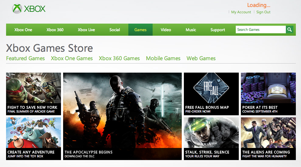 Screen Shot 2013 08 30 at 14.09.15 Microsoft rebrands Xbox Live Marketplace as Xbox Games Store ahead of new console launch