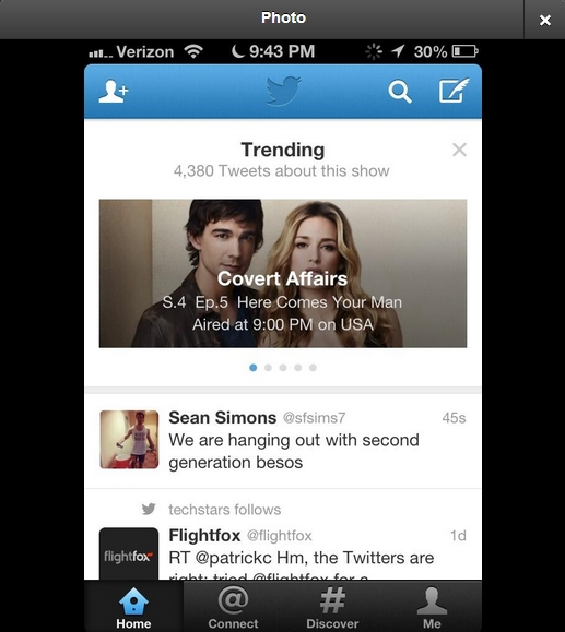 Twitter TV Twitters testing out Trending TV, have you got it on your timeline yet?