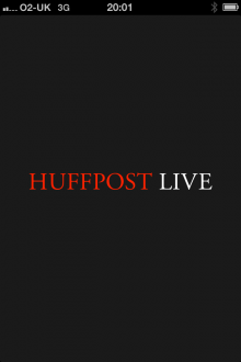 a4 220x330 The Huffington Posts HuffPost Live streaming service arrives for iPhone