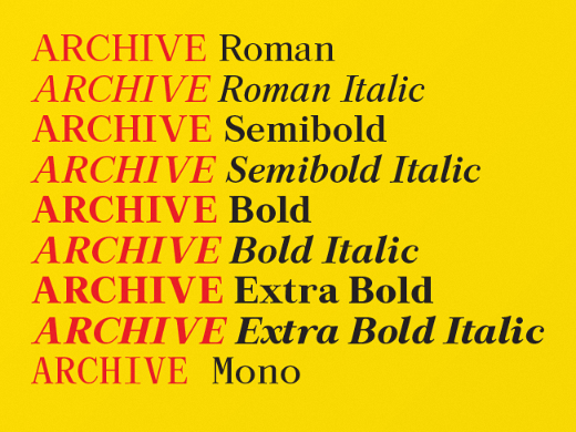 archive 28 of the most beautiful typefaces released last month