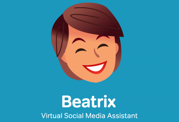 beatrix 730x500 Beatrix is a virtual assistant who picks out and publishes your social media content