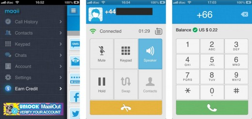 call 520x247 Maaii is a mobile messaging app that lets you earn and spend international calling credit