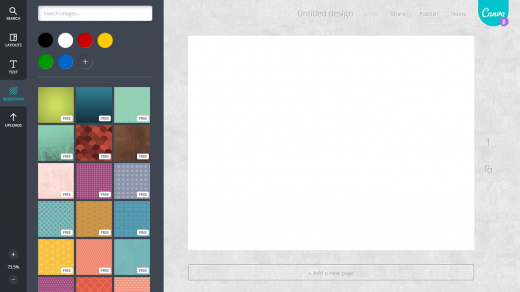 canva4 520x292 Canvas simple and collaborative Web based platform aims to turn anyone into a designer