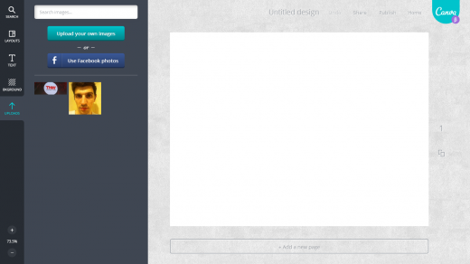 canva5 520x292 Canvas simple and collaborative Web based platform aims to turn anyone into a designer