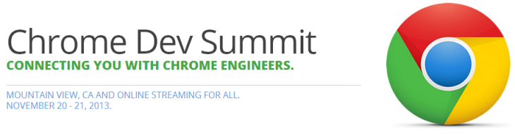 chrome dev summit 730x191 Google announces its Chrome Dev Summit sold out in under a minute, will live stream all sessions on YouTube