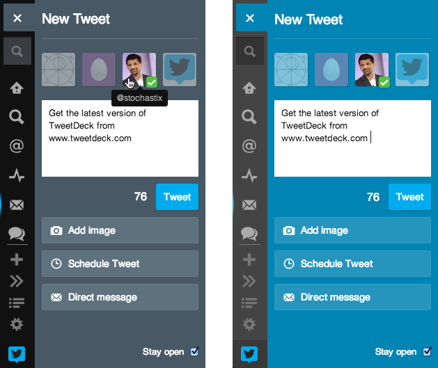 compose2 Twitter revamps TweetDecks New Tweet panel with easier posting, sending DMs, and previewing images