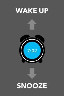 d5 220x330 Carrot Alarm for iPhone: Whatever you do, dont hit the snooze button...