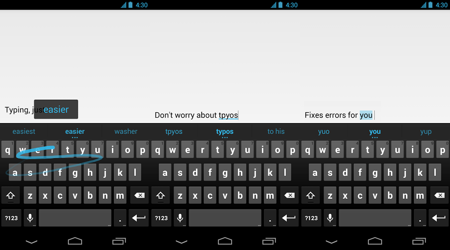 google keyboard By offering its stock apps in the Play Store, Google is slowly solving Android fragmentation