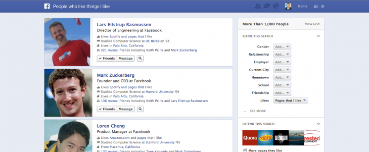 gs2 730x301 Facebooks Graph Search is now available to everyone using US English