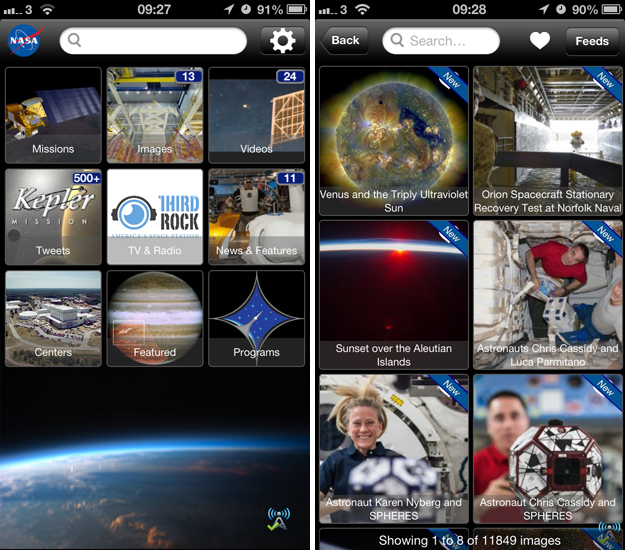 nasa1 The final frontier: 10 iOS apps for astronomers, stargazers and amateur space explorers
