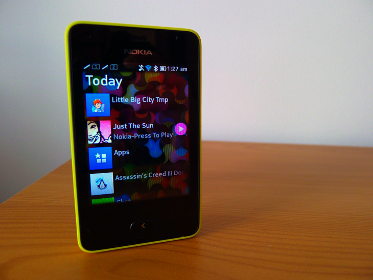 newasha1 Nokia Asha 501 review: A colorful, $99 handset bringing smartphone like experiences to the masses