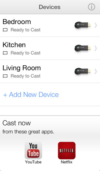 Google releases a Chromecast app for iOS to help users set up and manage their $35 TV dongle