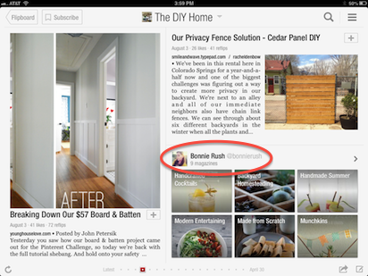 tap avatar pagebox Flipboard for iOS joins the Android version in letting you watch animated GIFs right in the app