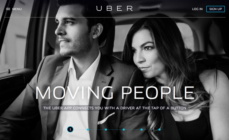 uber 730x446 How emotional design can give your website much more impact